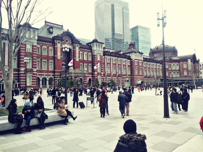 きしもとデザインの東京駅画像