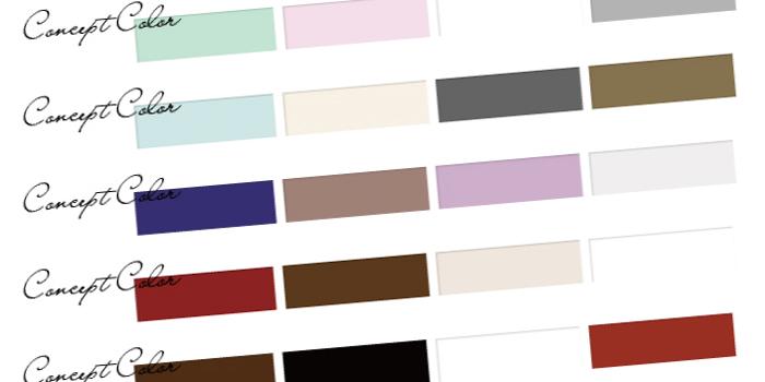 きしもとデザインのカラーパレット