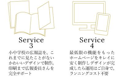 きしもとデザインのサービス説明