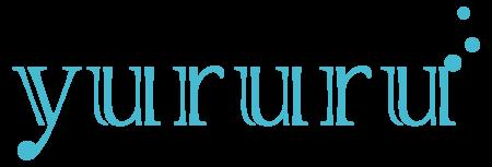 きしもとデザイン制作のyururuロゴ