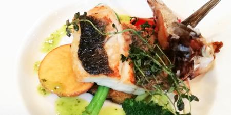 マルズターブルのランチの魚料理