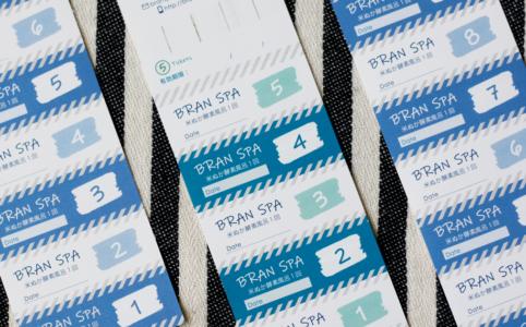 きしもとデザイン制作のBRANSPA回数券